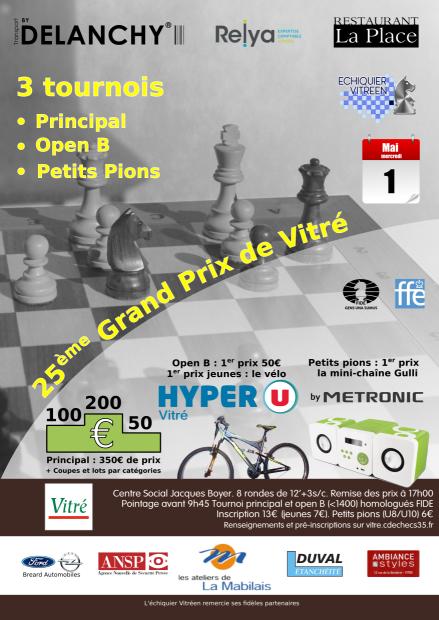 25ème Grand Prix de Vitré @ Vitré